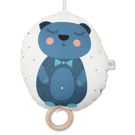 """Große Spieluhr """"Blauer Bär"""""""