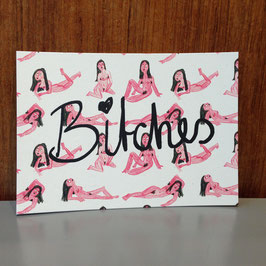 "Postkarte ""Bitches"""