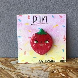 "Pin ""Erdbeere I"""