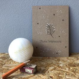 "Postkarte ""Frohe Weihnacht"""