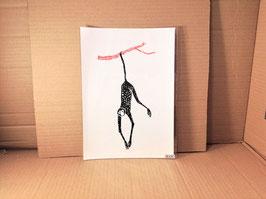 "Kunstdruck ""Spinnenaffe"""
