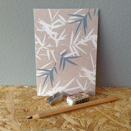 """Postkarte """"Bambus"""""""