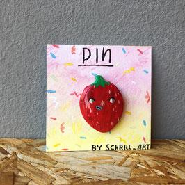 """Pin """"Erdbeere II"""""""