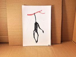 """Kunstdruck """"Spinnenäffchen"""""""