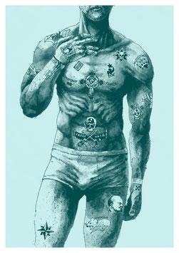 """Risoprint """"Tattoo"""""""
