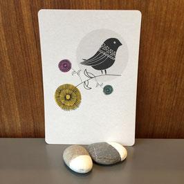 "Postkarte ""Vogel"""