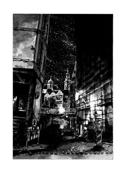 "Risoprint ""Augsburg Nights"""