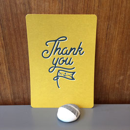 "Postkarte ""Thank You"""