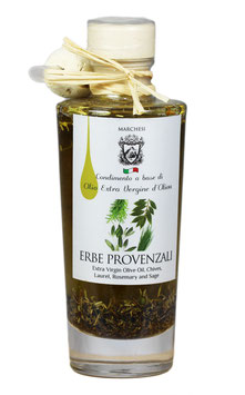 Olivenöl mit Kräutern der Provence