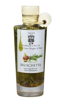 Olivenöl Bruschetta mit Knoblauch und Rosmarin