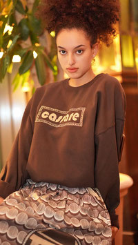 cassare sweatshirt brown