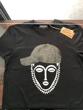 African Mask with cap black