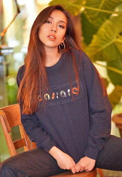 Cassare Sweatshirt Dark Blue