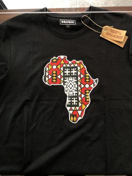 African continent t-shirt black