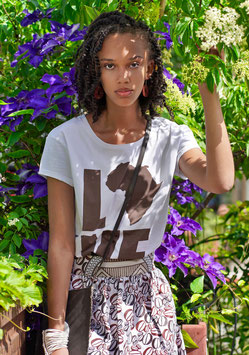 love africa woman t-shirt