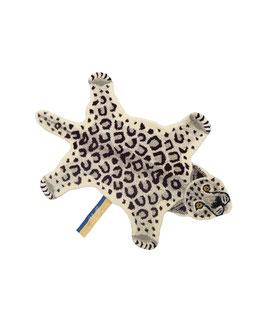 Snowy Leopard rug small