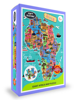 AFRICA GIANT PUZZLE