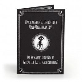 Pechwunschkarte - uncharmant