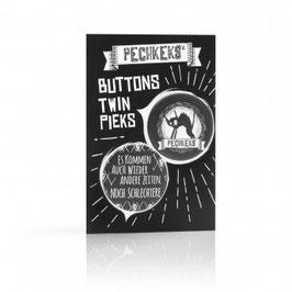 Buttons Twin Pieks - Schlechte Zeiten