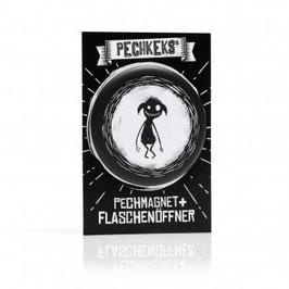 Pechmagnet + Flaschenöffner - Dummi