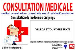 Consultation médicale 4 langues