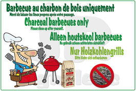 Barbecue charbon/nettoyage FR/AN/NL/ALL