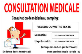 Consultation médicale français