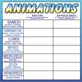 Animations carré 5 langues 1000x1000 mm