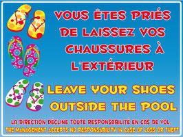 Chaussures interdites français/anglais