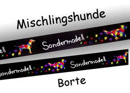 1m Sondermodell Mischlingshunde Borte Hund, 20mm breit