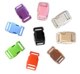 Klickverschluss Acetal / POM für Hundezubehör, viele Größen und Farben