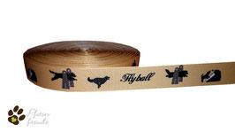 1m Flyball Borte Hund, 22mm breit