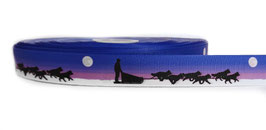 1m Schlittenhunde Borte Hund, 22mm breit