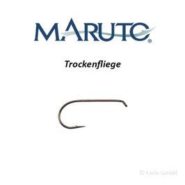 Maruto D24 Trockenfliegenhaken barbed