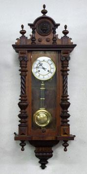 ★きれいなツイスト柱 掛け時計★