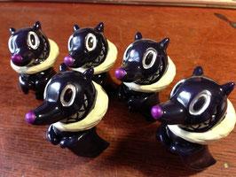 〜「黒糖♥蝙蝠ソフビ濃紫2695彩色」〜
