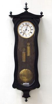 ★2本分銅バイオリン型 掛け時計★