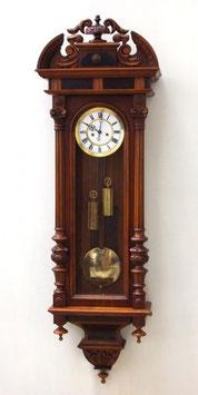 ★豪華な2本分銅ビエンナ 掛け時計★
