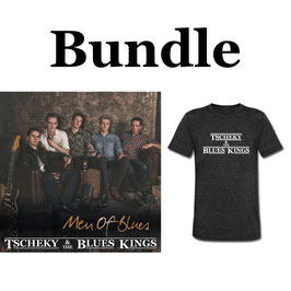 Bundle - Men Of Blues CD + T-Shirt