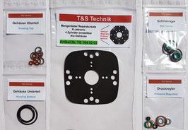 Mengenteiler Reparatursatz / Dichtsatz K-Jetronic 4 Zyl. Aluminium einstellbar   TS1040202