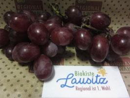 Bio Weintrauben rot kernlos (9,50 € / kg)