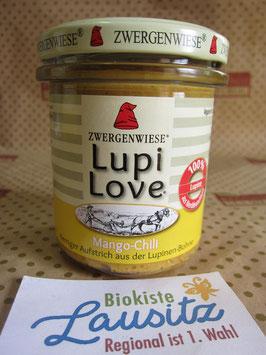 Zwergenwiese Bio Aufstrich Lupi-Love Mango-Chili 165g