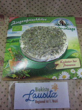 Bio Heideziegenfrischkäse Kräuter 125g