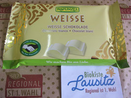 Rapunzel Bio Weisse Schokolade 100g