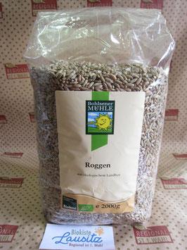Bohlsener Mühle Bio Roggen 2kg