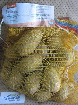 """Bio Kartoffeln gelb """"Agria"""" vfk 2,5 kg Sack (2,49 € / kg)"""