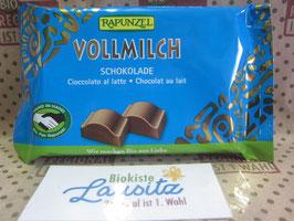 Rapunzel Bio Vollmilch Schokolade 100g