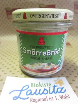 Zwergenwiese Bio Aufstrich Smörre Bröd Mandel-Brokkoil 140g
