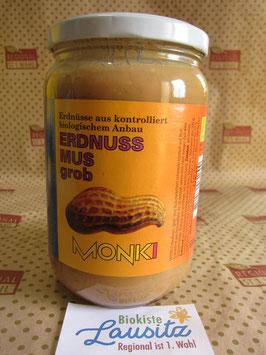 Monki Bio Erdnussmus grob 650g