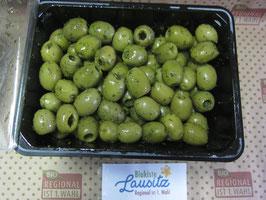 Bio-verde Bio grüne Oliven 500g Schale